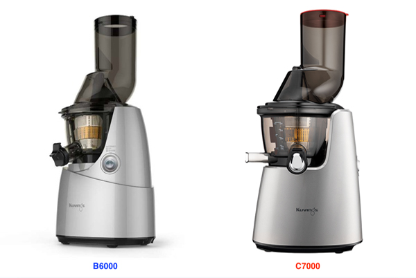 Sự khác nhau giữa máy ép trái cây Kuvings B6000 và Kuvings C7000