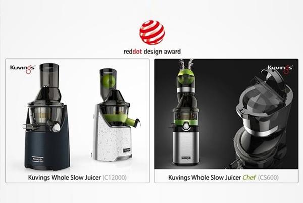 Kuvings giành giải 3 thiết kế hàng đầu toàn cầu một lần nữa